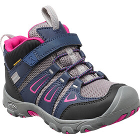 Keen Kids Oakridge Mid WP Shoes Dress Blues/Very Berry
